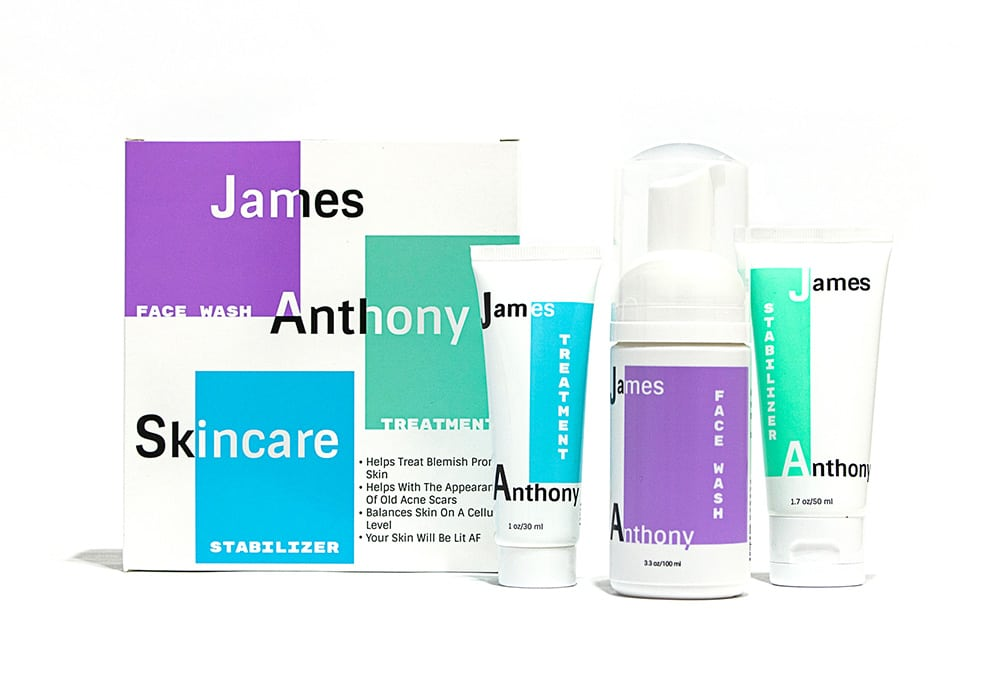 James Anthony Teen 3-Step Skincare Regimen