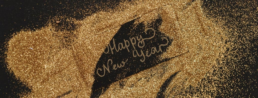 Image of Happy New Year sign